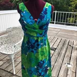 Donna Ricco Hawaiian style sundress colorful